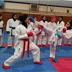 حضور بانوان مازنی در انتخابی مرحله سوم تیم ملی کاراته