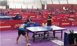تصاویر مسابقات جایزه بزرگ تنیس روی میز جام فجر در شهرستان تنکابن