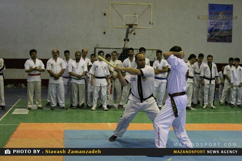 اولین جشنواره ورزشی باشگاه رزم آوران استان مازندران در رامسر