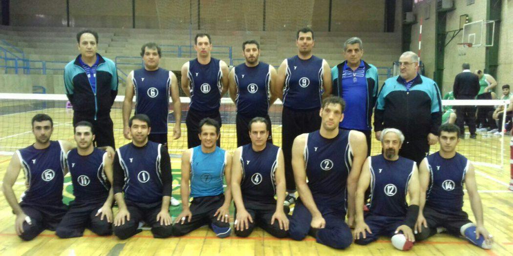 بهزیستی مازندران در لیگ والیبال نشسته کشور قهرمان شد