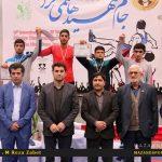 تصاویر روز پایانی مسابقات کشتی بین المللی شهید هاشمی نژاد
