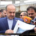 حضور وزیر ورزش در مازندران و افتتاح پروژه های ورزشی/عکاس:احمد قربانی