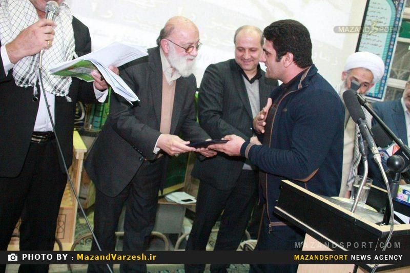 مراسم یادواره ی شهدای ورزشکار در نکا برگزار شد+تصاویر