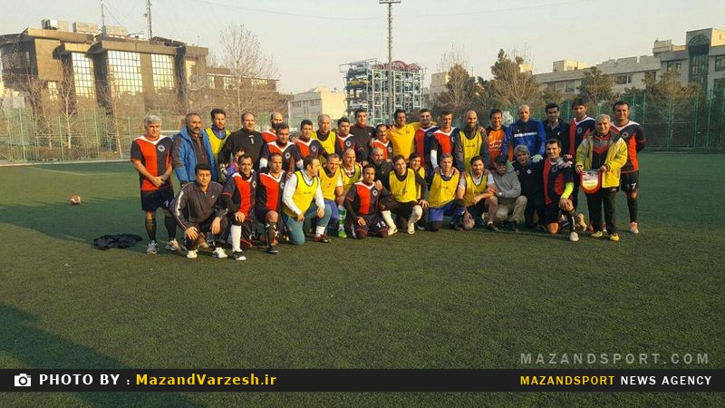 شکست پیشکسوتان مازندران در برابر پیشکسوتان استقلال تهران + تصاویر