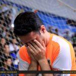 خداحافظی محمود لطفی بازیکن شهروند ساری  بعد از ۱۵ سال با فوتسال /عکاس :احمدقربانی
