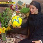 زهرا غریب :حضور دائم در تیم ملی هدف اصلی من است