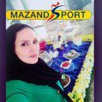 ملیحه فضلی:هدفم قهرمانی در مسابقات جهانی كشتي آليش بانوان است