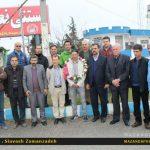 نایب قهرمان مازندرانی مسابقات دوچرخه سواری آسیا وارد مازندران شد + تصاویر