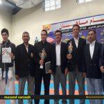 در مسابقه کاراته قهرمانی استان مازندران در بهنمیر قائمشهر قهرمان شد +تصاویر