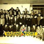 باشگاه ایرانیان و تجلیل فوتبالی ها از وزنه بردار قهرمان + عکس