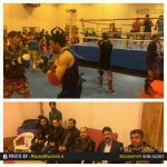 برگزاری اردوی تیم ملی موی تای ایران در بابل