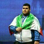 محمد شهاب انداز مدال طلا گرفت