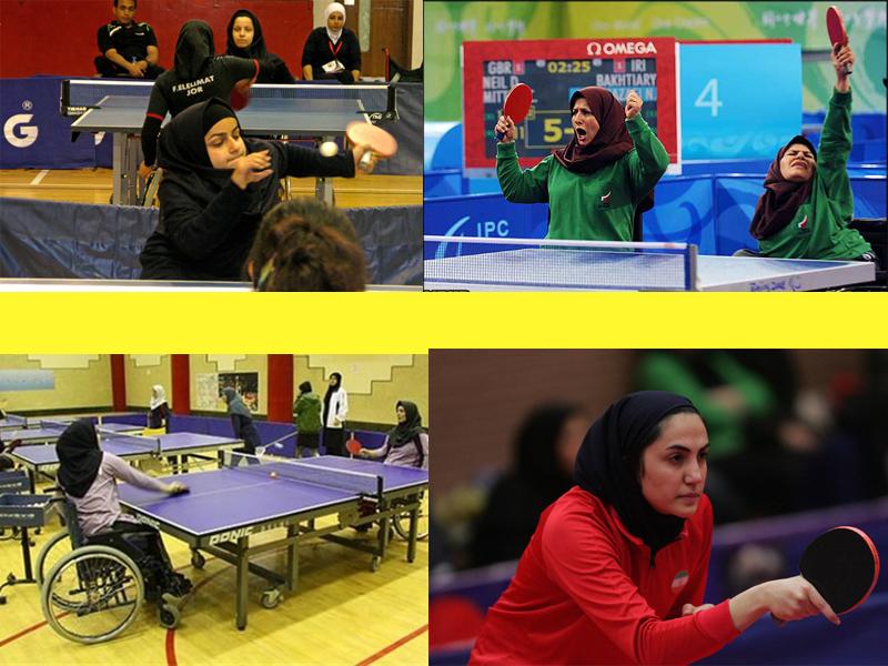 تیم بهزیستی مازندران قهرمان مسابقات تنیس روی میز جانبازان و معلولان بانوان کشور شد