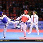 اولین روز مسابقات تکواندو / یک طلا و ۲ مدال از مازنی ها