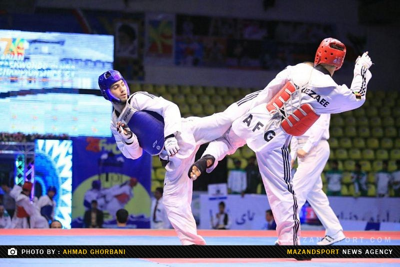 مازندران بر سکوی سوم تکواندو قهرمانی کشور ایستاد !