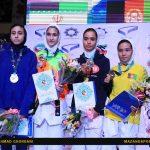 رقابت های بانوان نهمین دوره مسابقات بینالمللی تکواندوی جام فجر