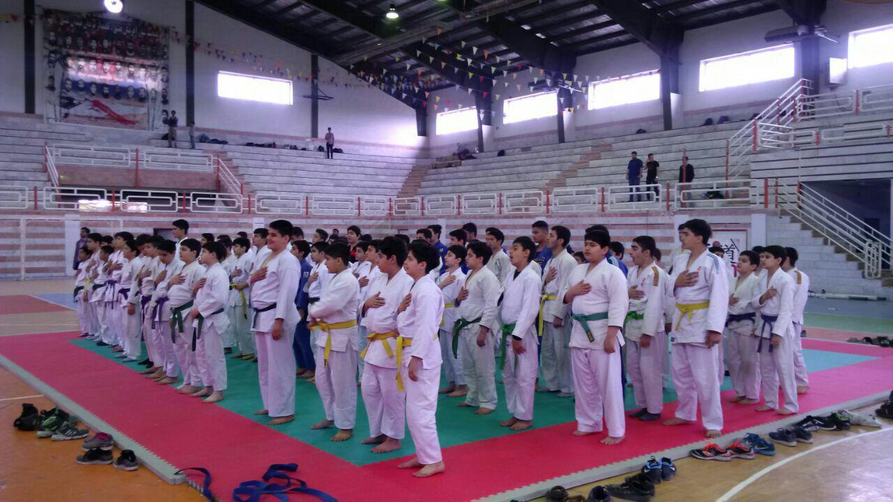 قهرمانان مسابقات جودو قهرمانی مدعیان نونهالان استان مشخص شدند + تصاویر