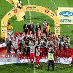 مراسم کامل اهدای جام قهرمانی پرسپولیس در لیگ شانزدهم