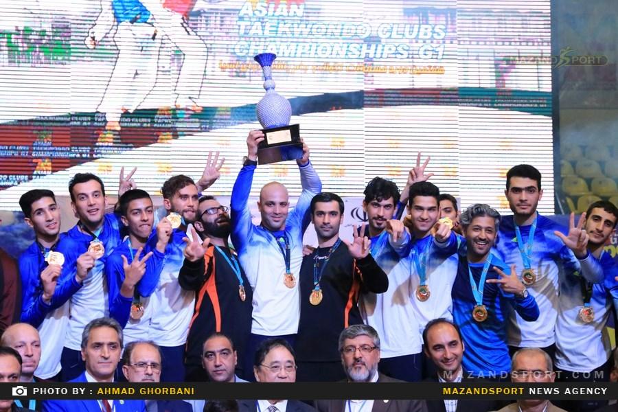 روز پایانی هفتمین دوره تکواندو جام باشگاه آسیا /عکاس:احمدقربانی