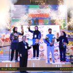 جام نهم به تیم تکواندو بانوان شهرداری ساری رسید