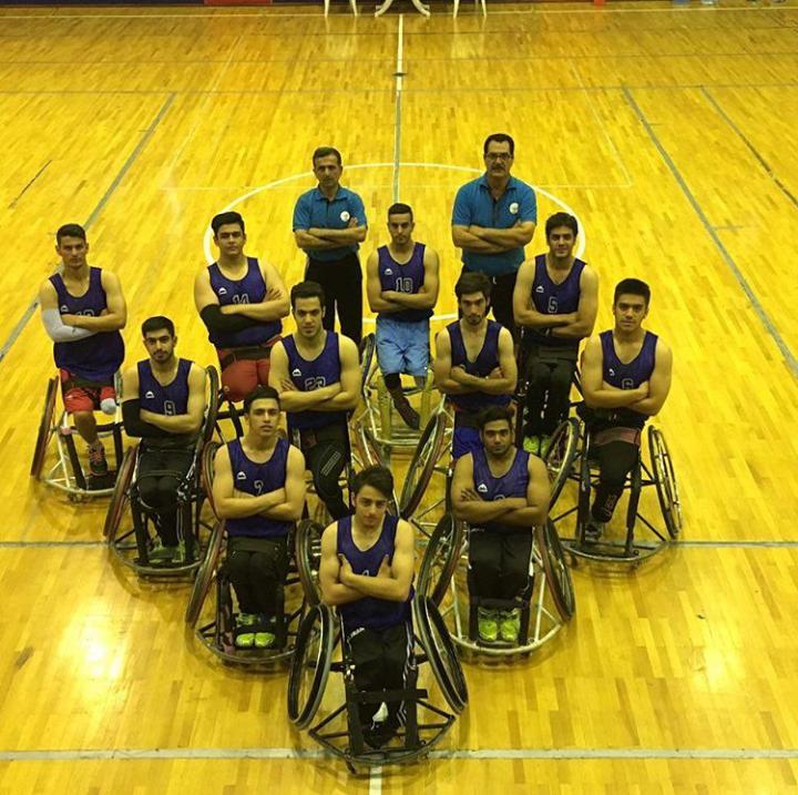 برگزاری اولین دوره جام حذفی بسکتبال با ویلچر