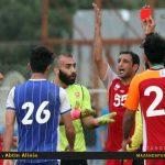 دیدار تماشایی تیم های شهدای بابلسر و پرسپولیس مشهد