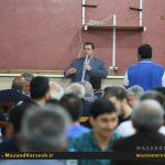 چنین شبی را فوتبال مرکز استان به خودش ندیده + گزارش تصویری