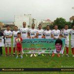 ستارگان مازندرانی فوتبال ایران در بهشهر به مصاف هم رفتند + تصاویر
