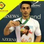 هادی خناری نژاد مدال برنز بر گردن انداخت + عکس