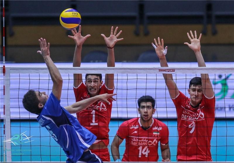 شاگردان عطایی میزبان را هم درهم کوبیدند/ هتتریک والیبال ایران