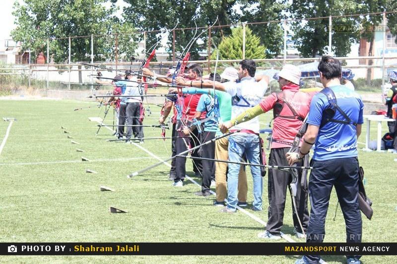 گزارش تصویری مسابقات تیراندازی با کمان گرامیداشت شهدای هفتم