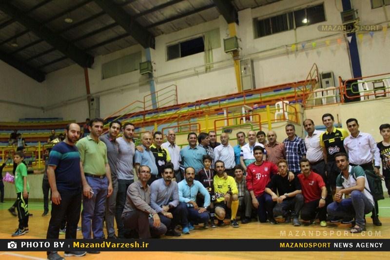 رفاقت وهمدلی رمز برگزاری موفق جام رمضان فوتسال سال ۹۶ شهرستان تنکابن