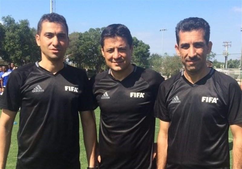 تیم داوری ایران برای قضاوت در جام کنفدراسیونها راهی روسیه شد