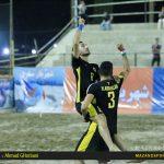 پیروزی پرگل شهریار ساری برابر  گلساپوش یزد