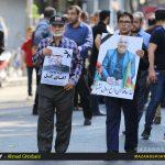 حسین مکارمی، پیشکسوت فوتبال مازندران به خاک سپرده شد /عکاس:احمدقربانی