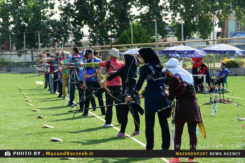 کمانداران برتر رقابتهای تیراندازی با کمان جام شهدای هفت تیر مشخص شدند + تصاویر