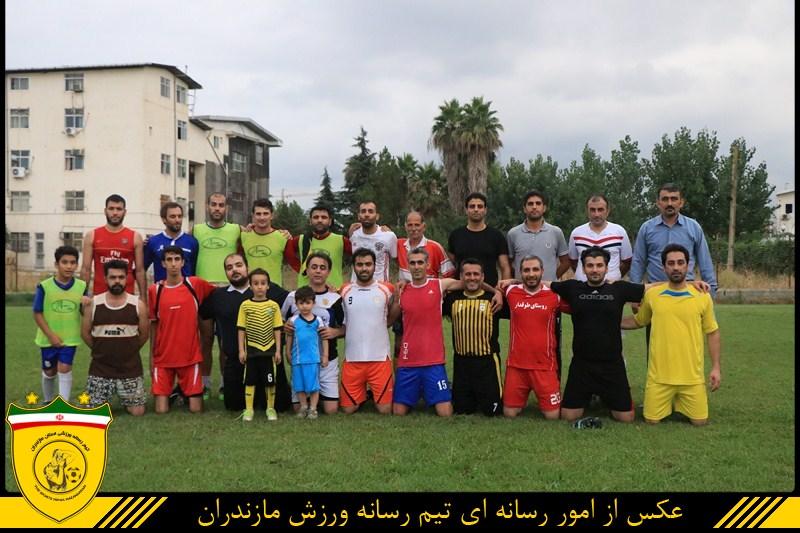توقف فوتبالیست های لیگ برتری در برابر رسانه ورزش مازندران + گزارش تصویری