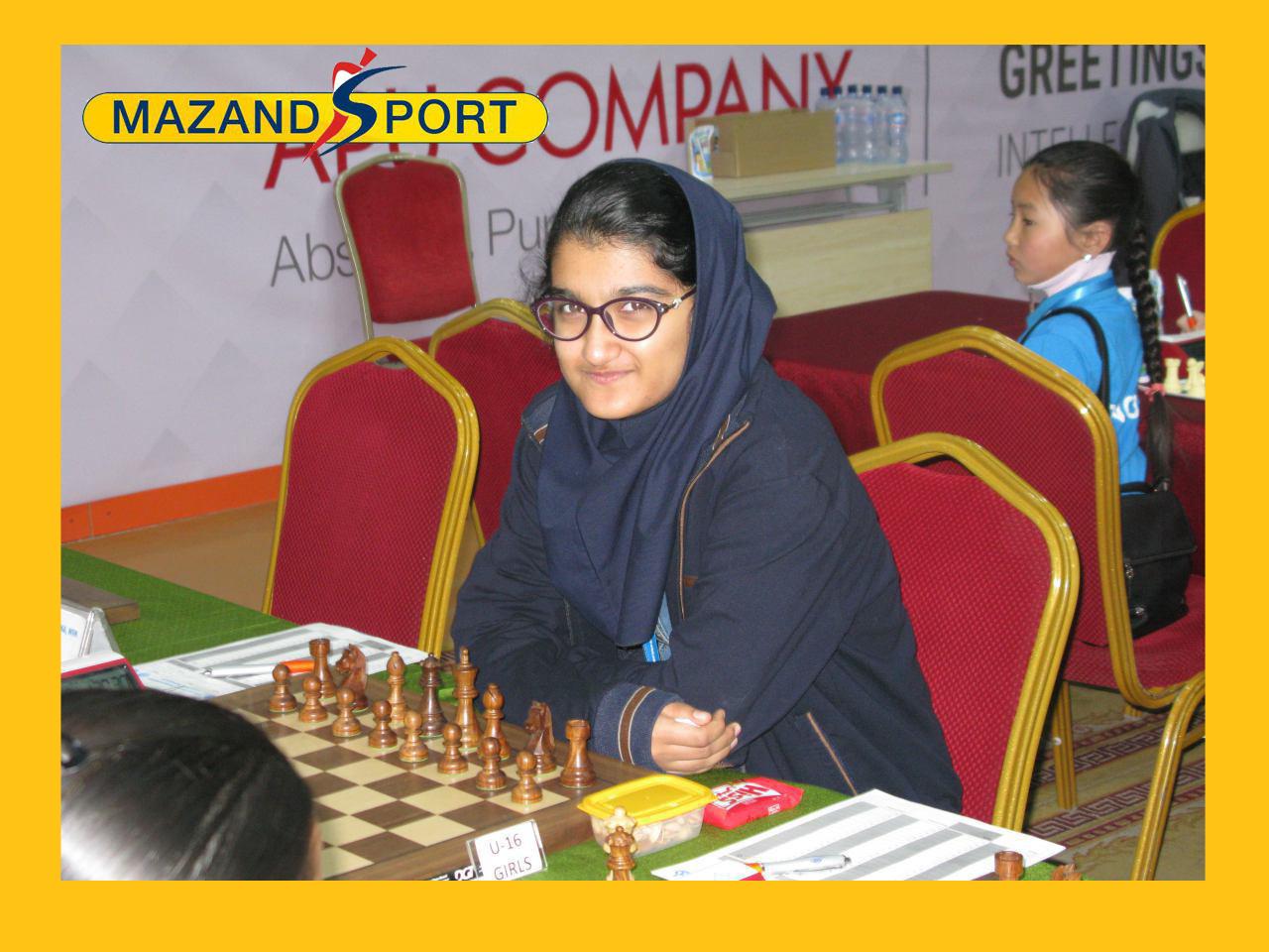 مبینا علی نسب قهرمان مسابقات در بخش زنان شد