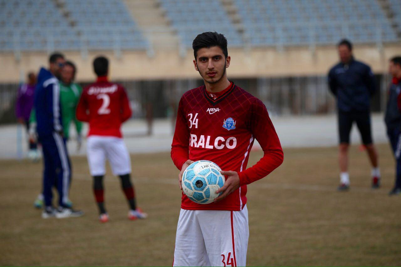 محمد آقا جانپور به تیم فوتبال پدیده پیوست + عکس