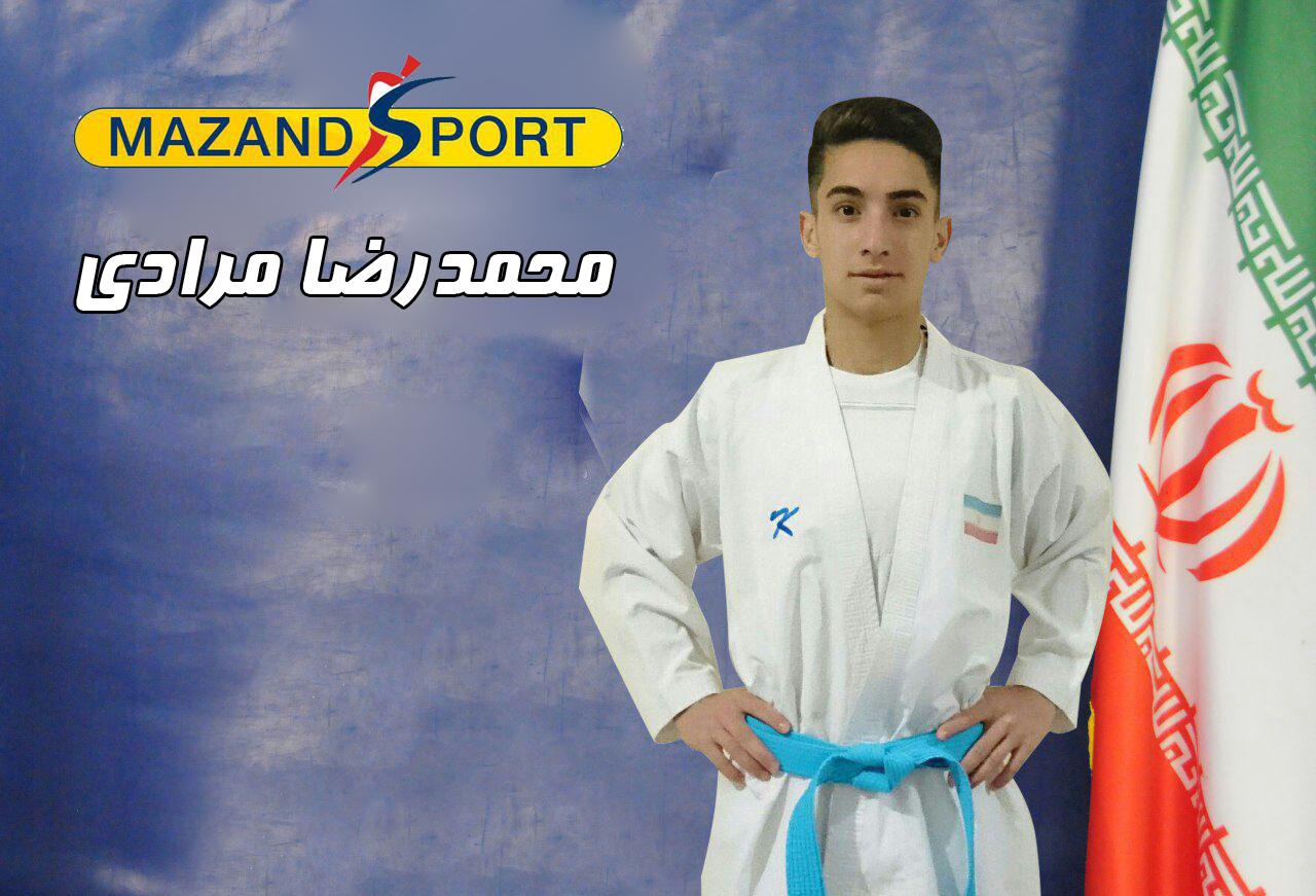 درخشش تیم ملی کومیته جوانان پسر/ محمدرضا مرادی طلایی شد + عکس