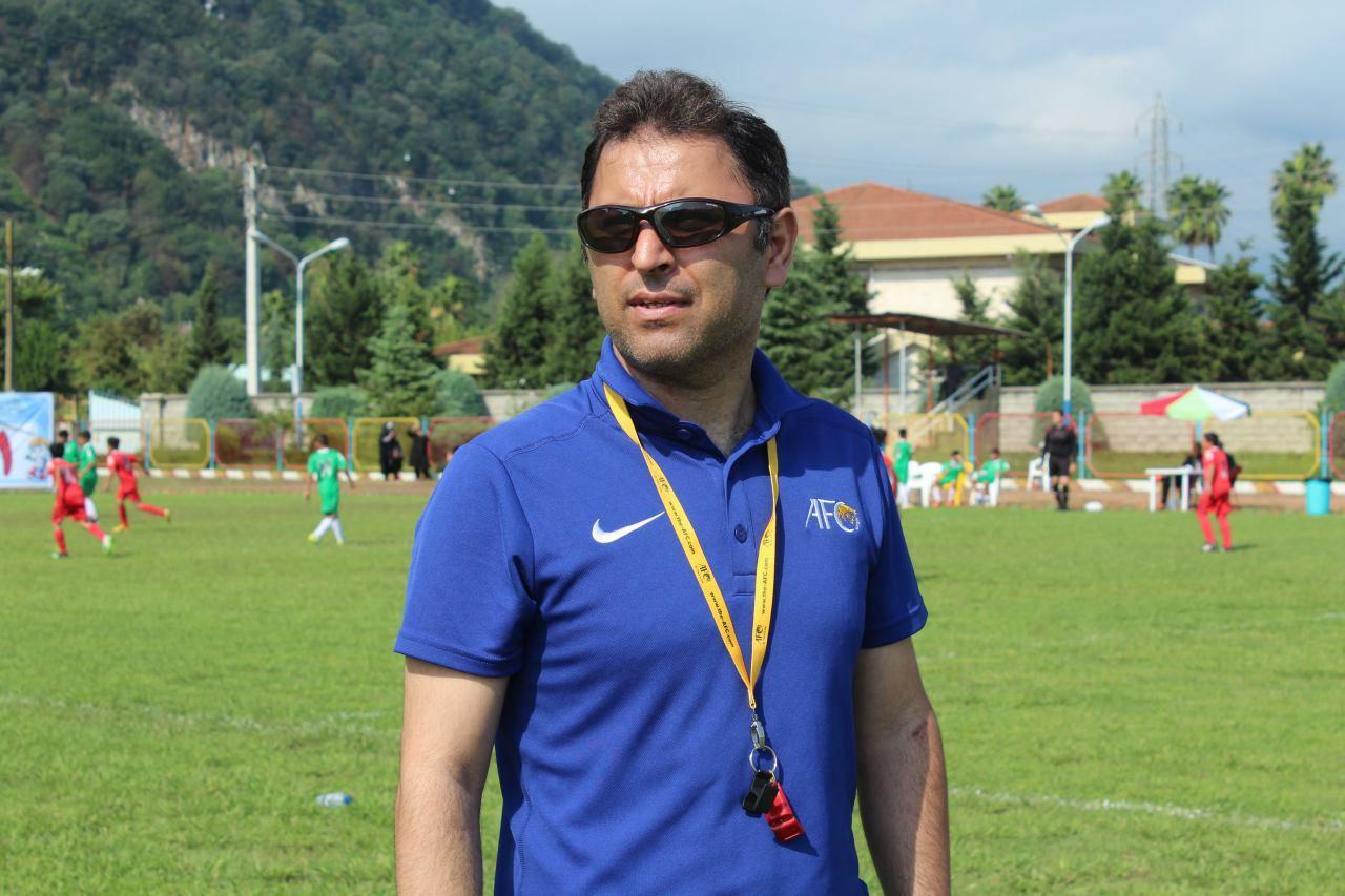 قضاوت نصیرلو در مسابقات فوتسال قهرمانی باشگاههای آسیا