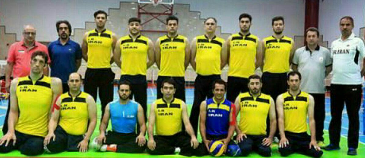 پیام تبریک سازمان بسیج ورزشکاران مازندران در پی قهرمانی والیبال نشسته شیر مردهای مازندرانی