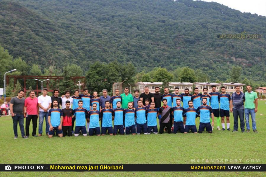 پیروزی سایپا تهران مقابل شهروند رامسر در یک دیدار دوستانه فوتبال