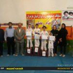 مسابقات استانی چند جانبه رزم آوران در رامسر برگزار شد+تصاویر