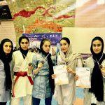 صدرنشینی دختران جوان مازنی در رقابتهای کاراته قهرمانی کشور + عکس