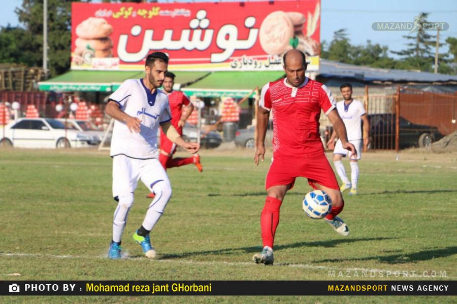 پیروزی شیرین کتالم مقابل شهرداری تنکابن در هفته دوم مسابقات لیگ برتر فوتبال استان مازندران
