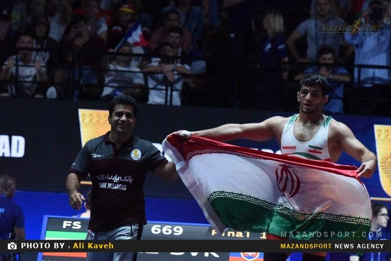 سنگر گرفتن فدراسیون کشتی پشت مدال طلای حسن یزدانی !