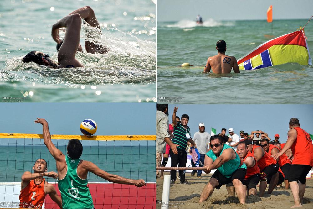 بابلسر قهرمان نخستین المپیاد ورزش های آبی ساحلی کشور شد