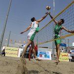 مازندران میزبان نخستین دوره مسابقات والیبال ساحلی آزاد کشور
