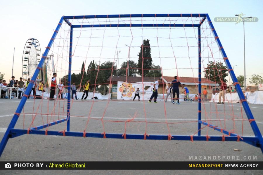 رسانه ورزش مازندران به مرحله یک هشتم نهایی مسابقات گل کوچیک صعود کرد /عکاس:احمدقربانی